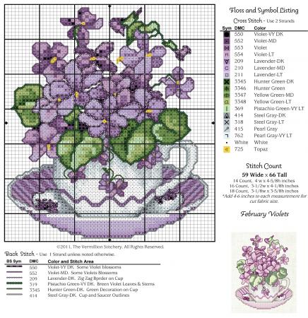 Coleção Flores em Xícaras 11