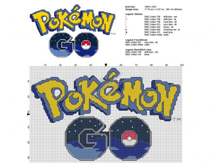 Pokemon Go logo ponto cruz