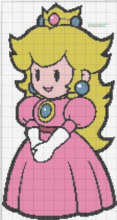 Princess Peach Mario Bros