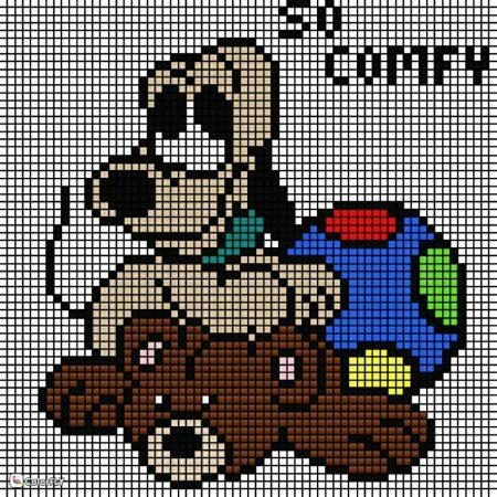pluto com bola e urso