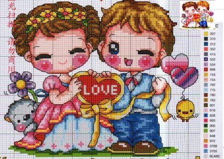 Namorados Apaixonados Casal Soda motivo Love com Cachorrinho