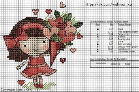 boneca menina 17
