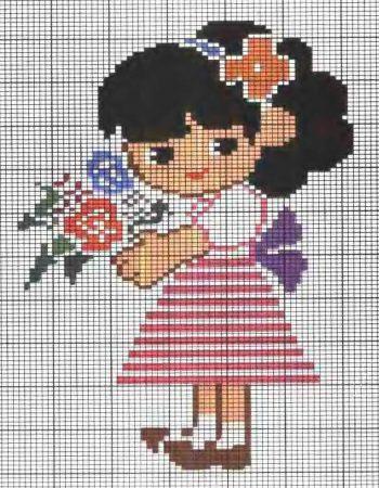 boneca menina 26