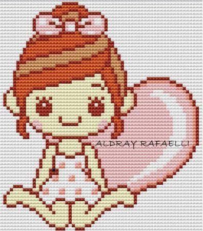 boneca menina fofa kawaii 14