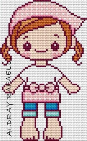 boneca menina fofa kawaii 23