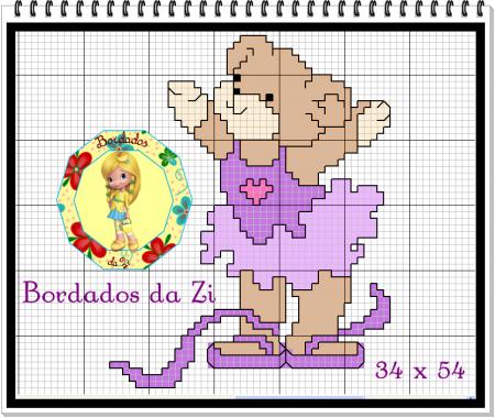 Ursinha bailarina 3
