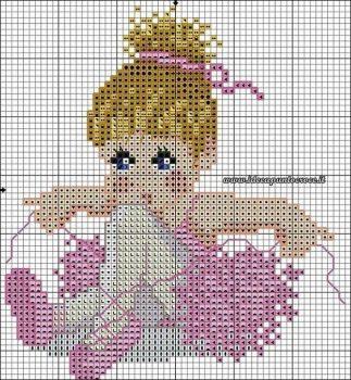 boneca menina bailarina 6