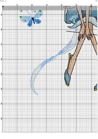 boneca menina fada 9 3 BordadoPontoCruz