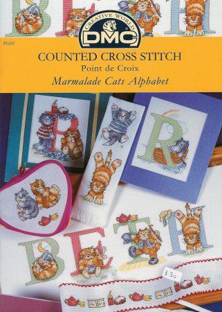 Alfabeto Gatos DMC marmalade cats 1