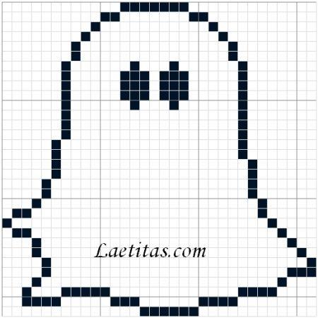 Fantasma em ponto cruz 03