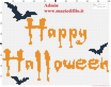 Halloween em ponto cruz 19