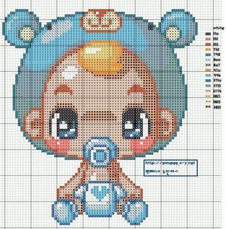 Coleção de Gráficos para Bebê 08