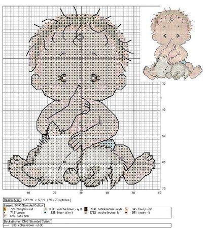 Coleção de Gráficos para Bebê 14