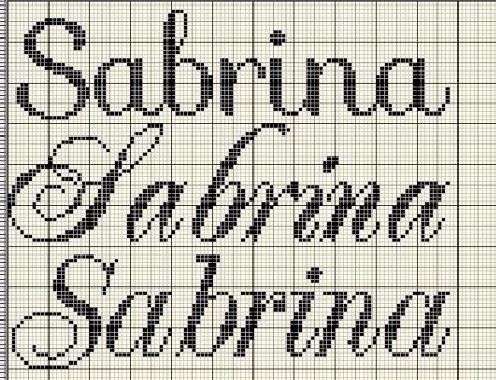 Sabrina BordadoPontoCruz 05