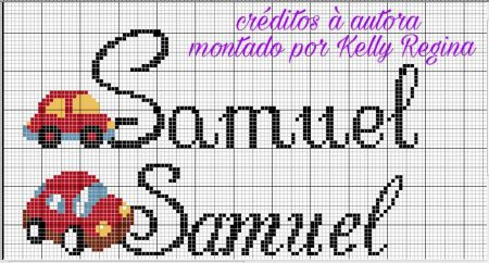Samuel BordadoPontoCruz 16