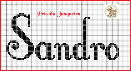 Sandro BordadoPontoCruz 02