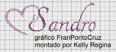 Sandro BordadoPontoCruz 06