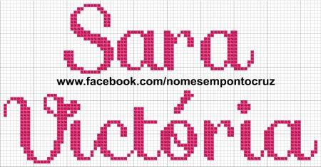 Sara Victoria BordadoPontoCruz 02
