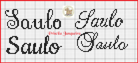 Saulo BordadoPontoCruz 02