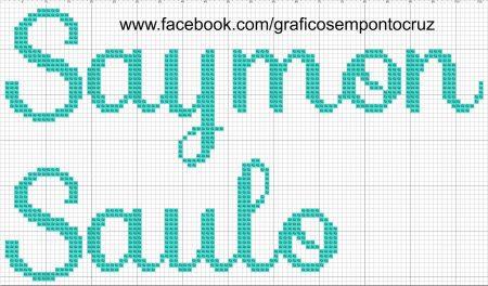 Saymon Saulo BordadoPontoCruz 01