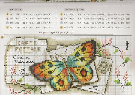 borbado borboleta quadro vintage 3