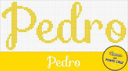 nome Pedro BordadoPontoCruz com 02