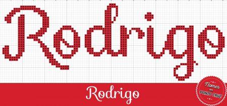 nome Rodrigo BordadoPontoCruz com 01