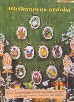 Páscoa Decoração BordadoPontoCruz 05c