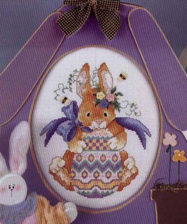 Páscoa Decoração BordadoPontoCruz 09