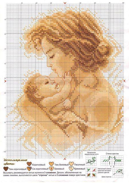 Coleção Dia das Mães BordadoPontoCruz com 04
