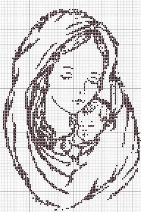 Coleção Dia das Mães BordadoPontoCruz com 09
