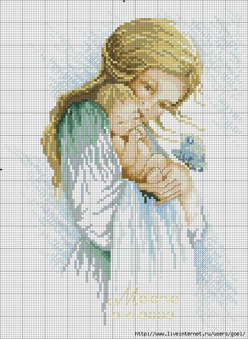 Coleção Dia das Mães BordadoPontoCruz com 10