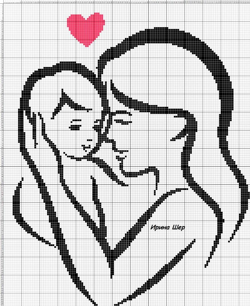 Coleção Dia das Mães BordadoPontoCruz com 27