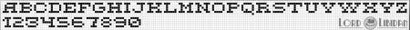 Monograma Alfabeto Pequenos BordadoPontoCruz com 11