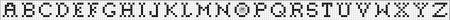 Monograma Alfabeto Pequenos BordadoPontoCruz com 27