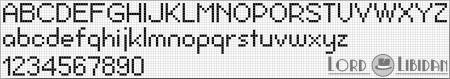 Monograma Alfabeto Pequenos BordadoPontoCruz com 33