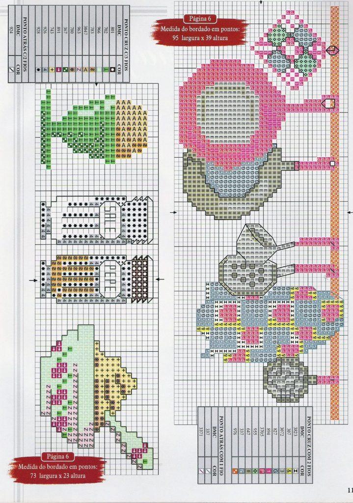 Cozinha Bules panelas e utensilios de cozinha BordadoPontoCruz com 30