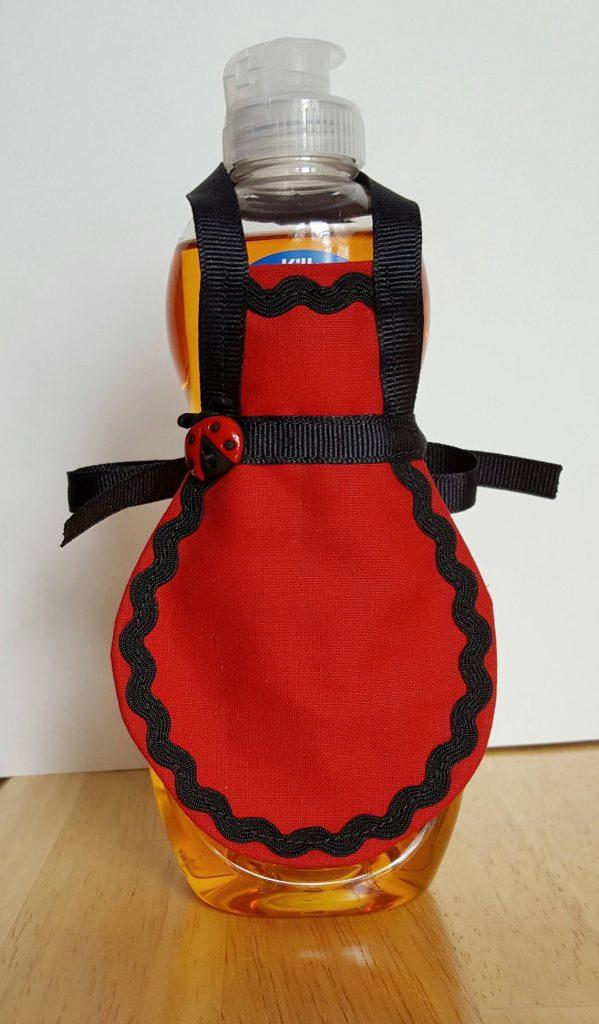 Avental ou capa para potes BordadoPontoCruz 02