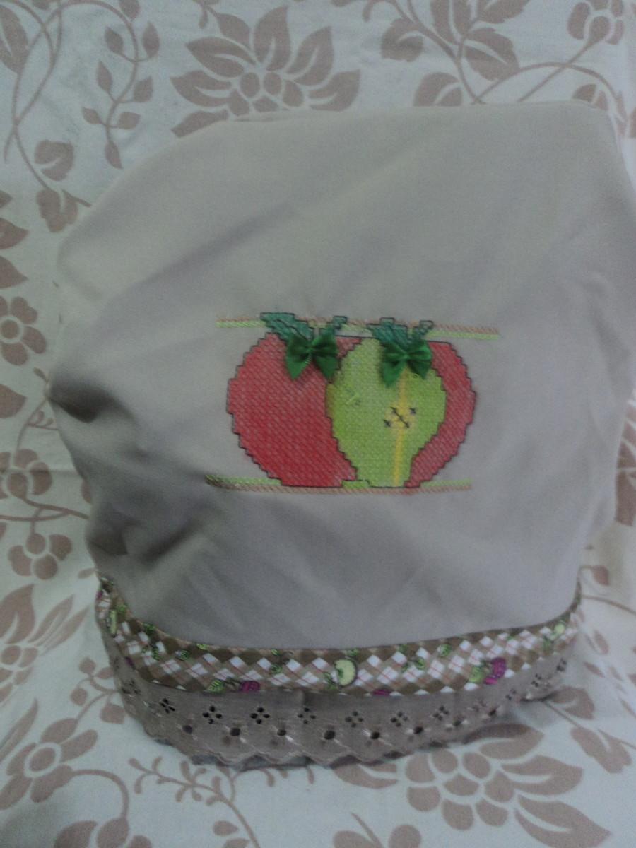 Capa para Batedeira BordadoPontoCruz 05
