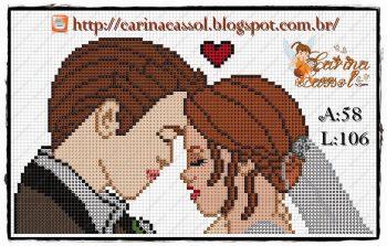 Frases Noivado e Casamento BordadoPontoCruz com 31
