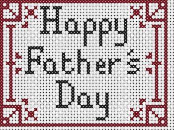 Colecao Dia dos Pais Bordado Ponto Cruz pt2 18a