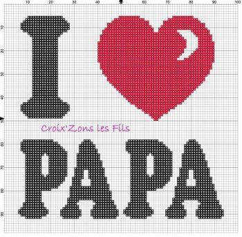Colecao Dia dos Pais Bordado Ponto Cruz pt2 20